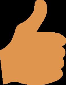 Thumbs Up Clip Art at Clker.com.