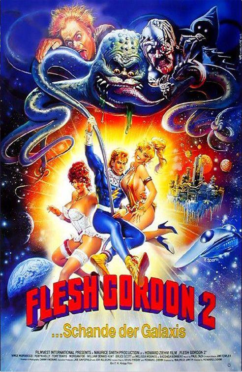 Flesh Gordon Meets the Cosmic Cheerleaders (1990).