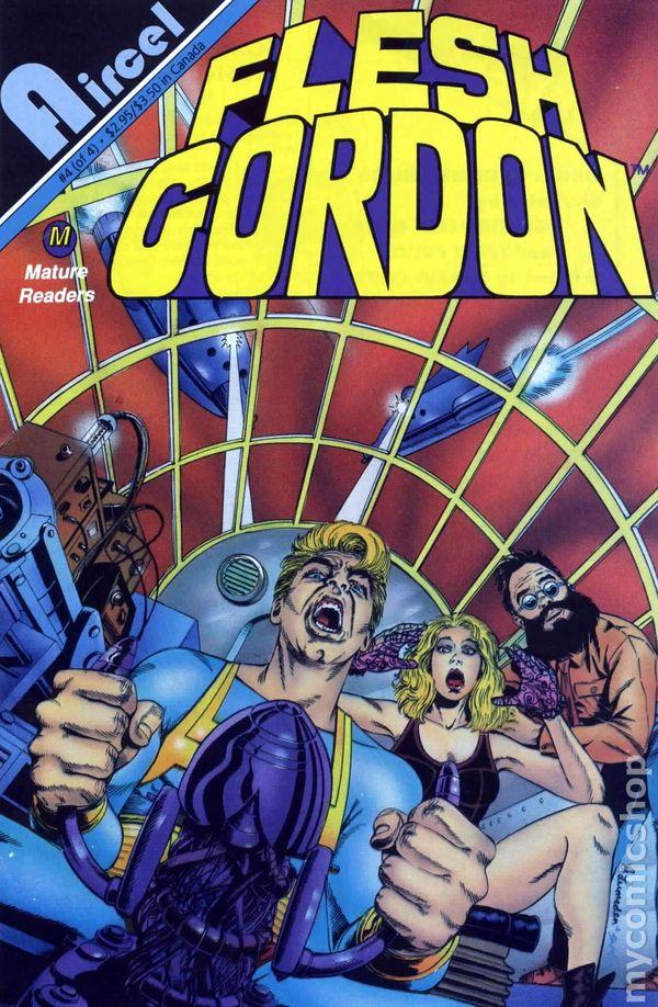 Flesh Gordon (1992) comic books.