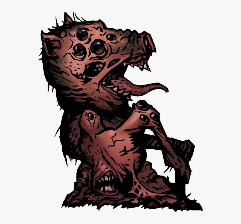 Darkest Dungeon The Flesh PNG Image.
