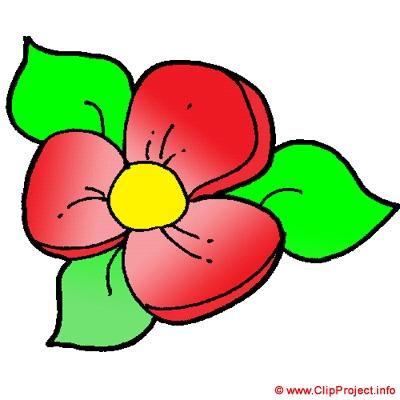 Clipart fleurs.
