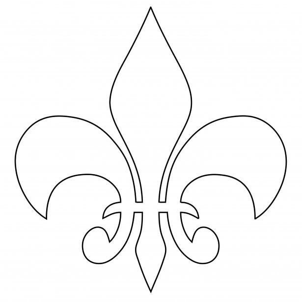 Free Fleur De Lis Outline, Download Free Clip Art, Free Clip.