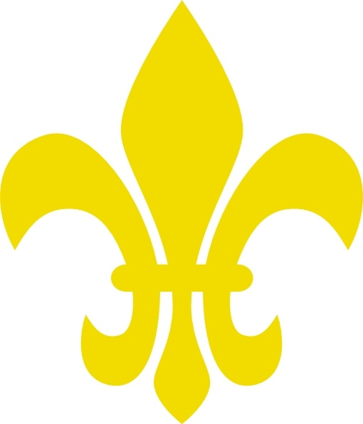 Fleur De Lis clip art Free vector in Open office drawing svg.
