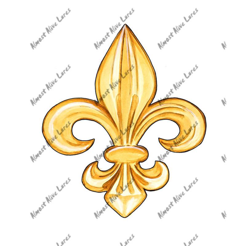 Details about Fleur de lis lys French France Monarchy Symbol Emblem Vinyl  Decal Sticker Gift.