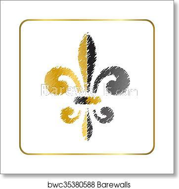 Golden fleur.