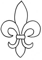 Fleur De Lis Stencil Pattern Group with 81+ items.