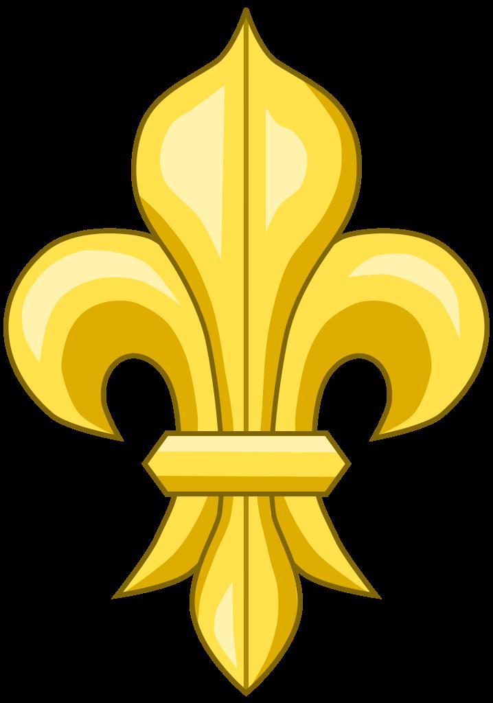 File:Fleur de lys (or).svg.