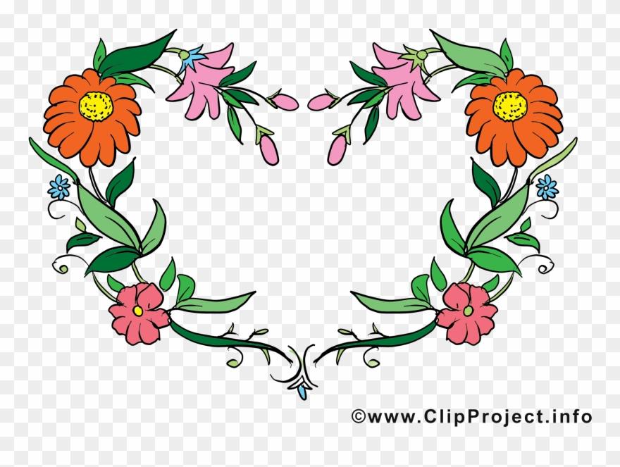 Fleurs Dessin Gratuit Cadre Image Clipart (#353349).