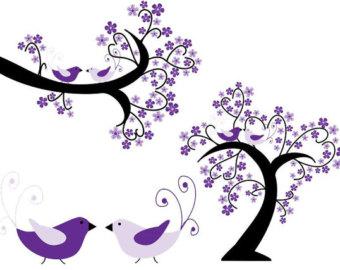 12 Pastel Hydrangea Clip Art Flower graphics Clipart.