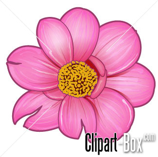 CLIPART FLOWER PINK.
