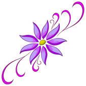 Violet flower Stock Illustration Images. 6,539 violet flower.