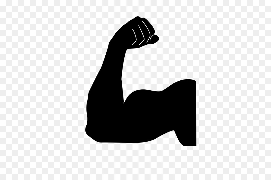 Spierbal Emoji Muscle Flex Png.