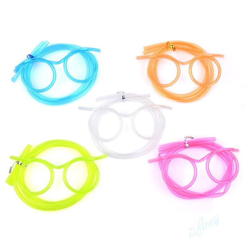 Flexible Tube Drinking Glasses.