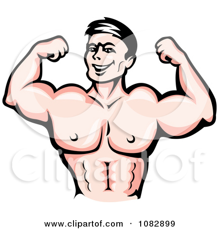 Flexing Arm Clipart.