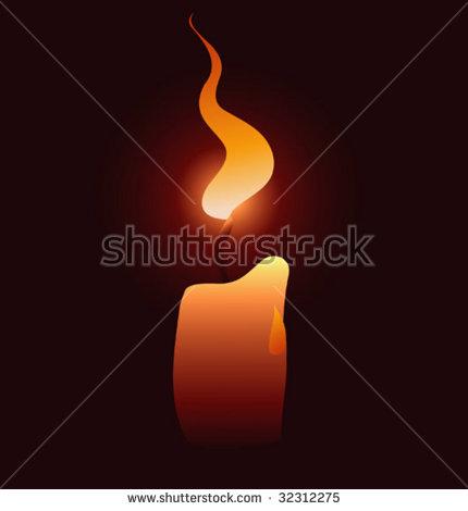Flickering Candle Stok Fotoğrafları, Telifsiz Görseller ve.