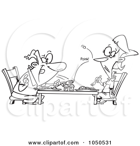 Royalty Free Dining Illustrations by Ron Leishman Page 1.