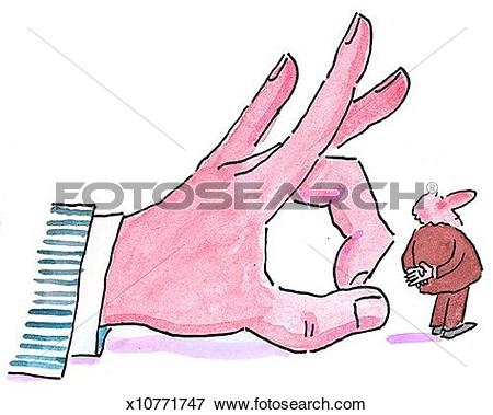 Stock Illustration of Getting Fired x10771747.