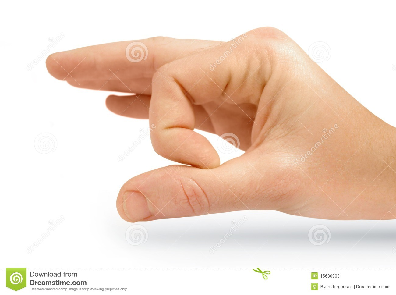Isolated Flicking Hand Stock Photos.