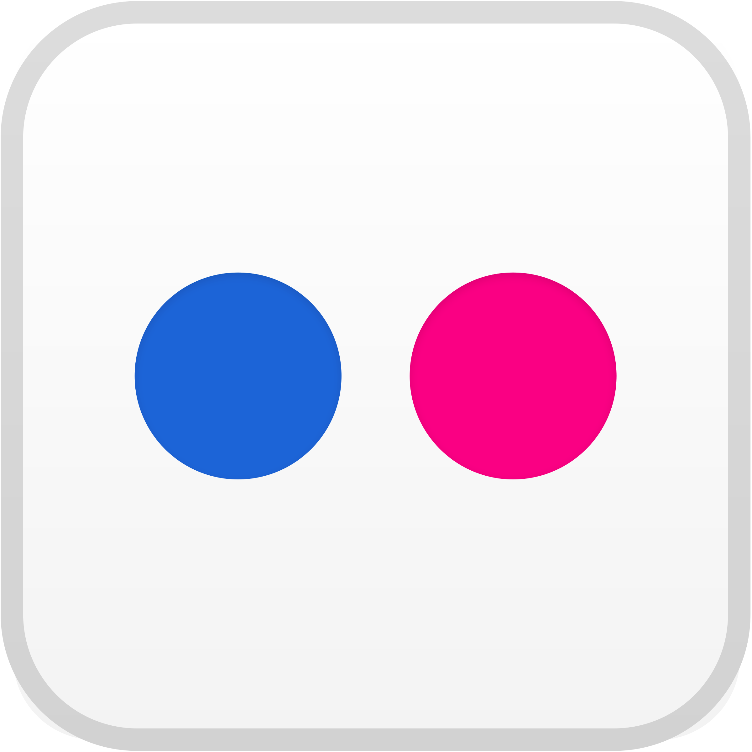 Flickr icon Logo PNG Transparent & SVG Vector.