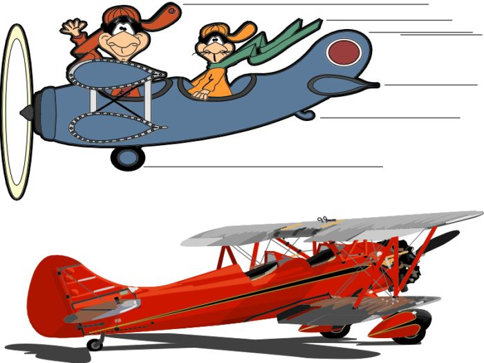 Modellflug Cliparts.