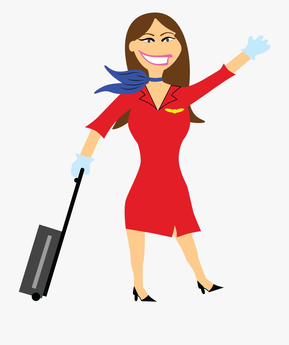 Flight Attendant Free Download Png.