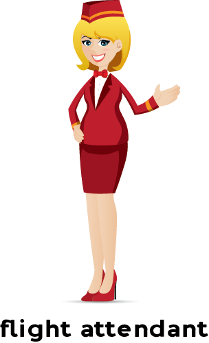 Flight attendant clipart clipart images gallery for free download.