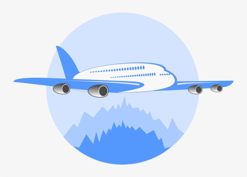 Airplane Clipart Logo.