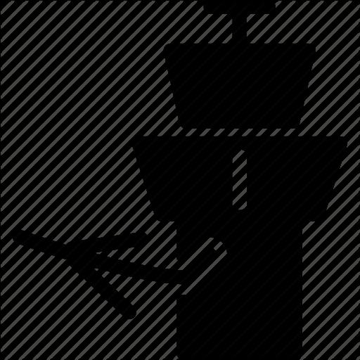 Air traffic control tower icon.