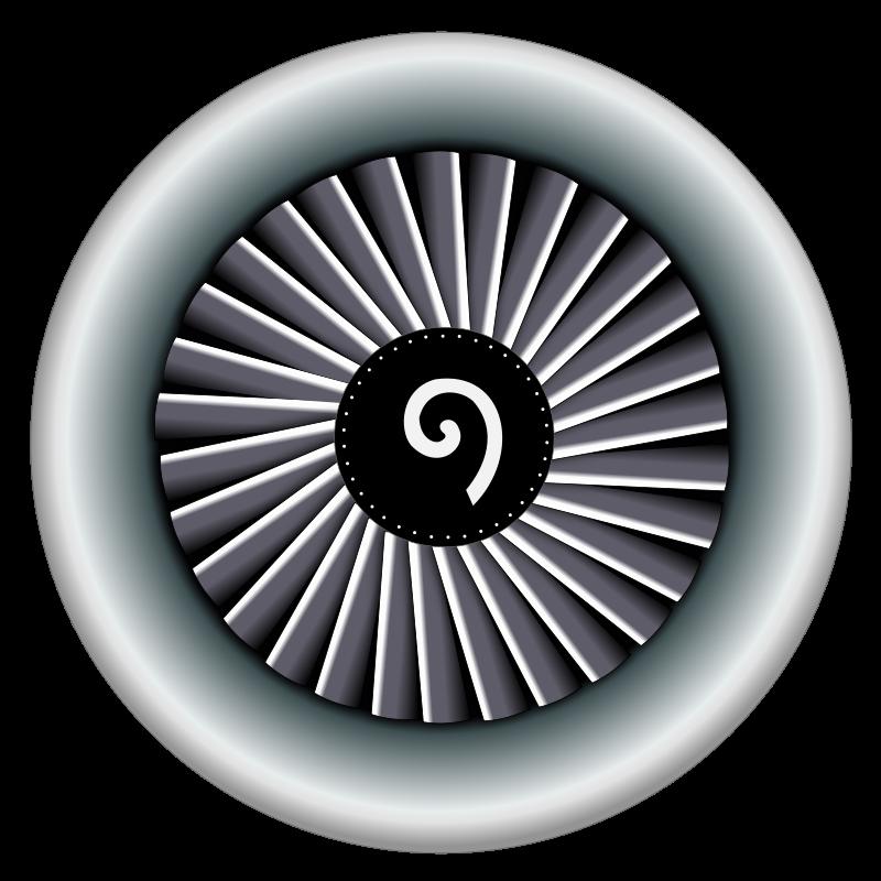 Jet Engine Clipart.