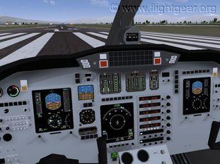FlightGear Flight Simulator.