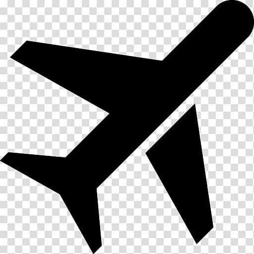 Airplane Computer Icons Flight ICON A5, airplane icon.
