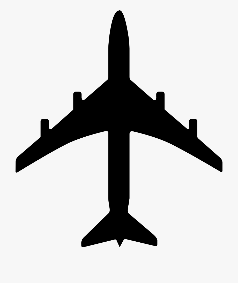 Airplane Clipart Black And White Free Clipart Images.