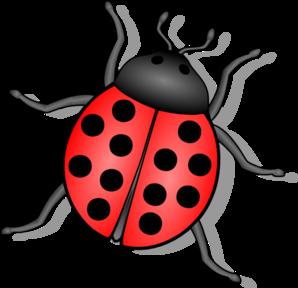 Ladybug Flying Tattoo.
