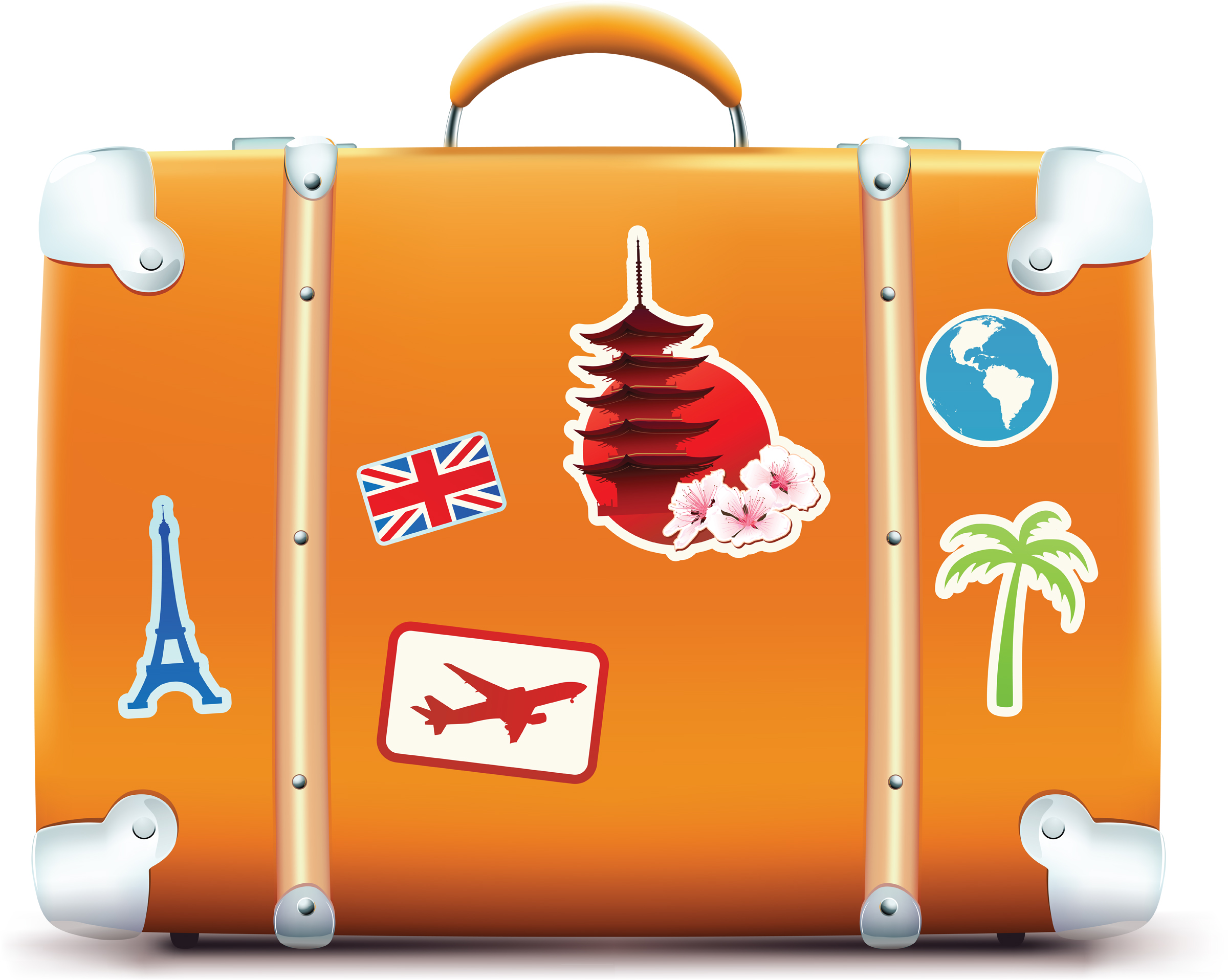 Luggage Clipart.