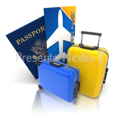 Luggage Travel Flight.
