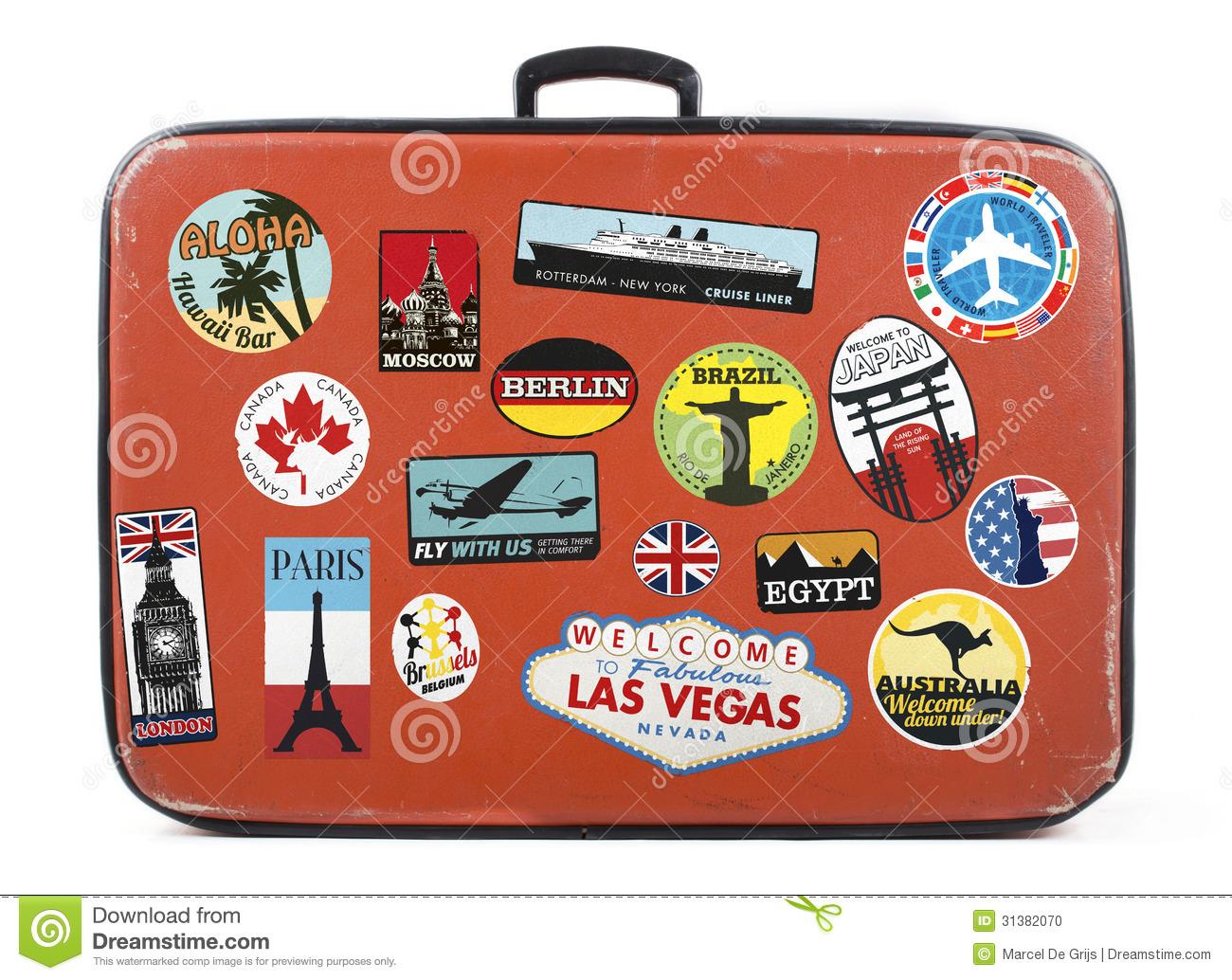 Luggage Stock Illustrations.