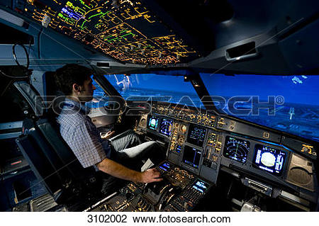 Flight simulator clipart #9