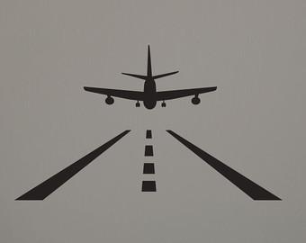 Landing strip.