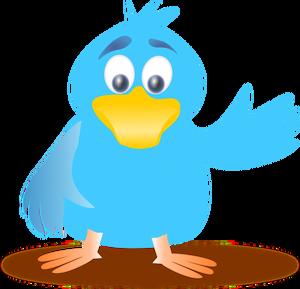 5490 flying blue bird clipart.