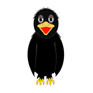 Crow clipart, cliparts of Crow free download (wmf, eps, emf, svg.