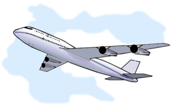 Airplane clipart flight clipart.