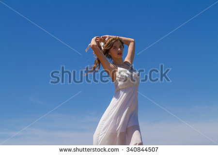Flimsy Dress Stock Photos, Royalty.