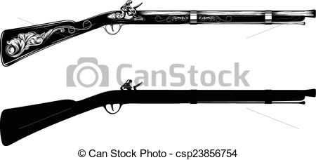 Flintlock Vector Clip Art Illustrations. 130 Flintlock clipart EPS.