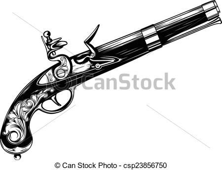 Flintlock Clip Art and Stock Illustrations. 169 Flintlock EPS.