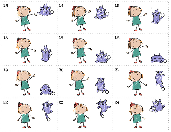 Peg + Cat . The Peg + Cat Floppy Hop Flipbook ..