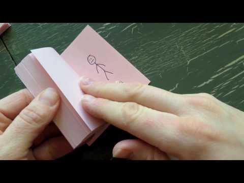 How to make a Flip Book Animation.