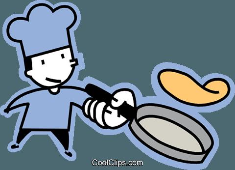 Flip Pancake Clipart.