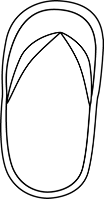 Flip Flop Clip Art.