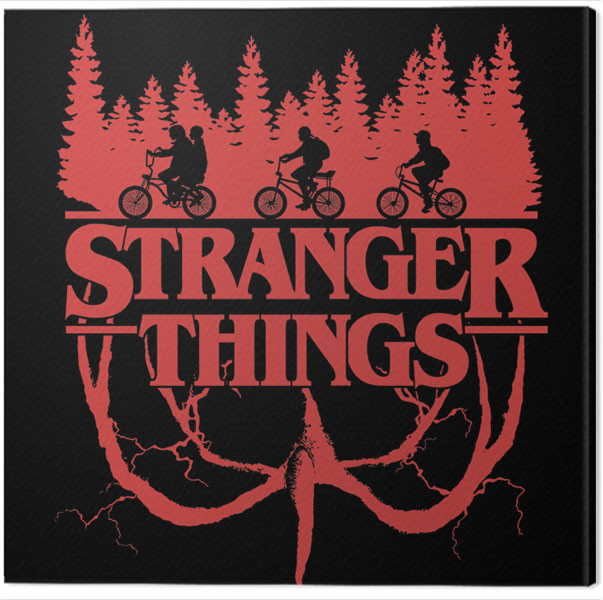 Canvas Print Stranger Things.