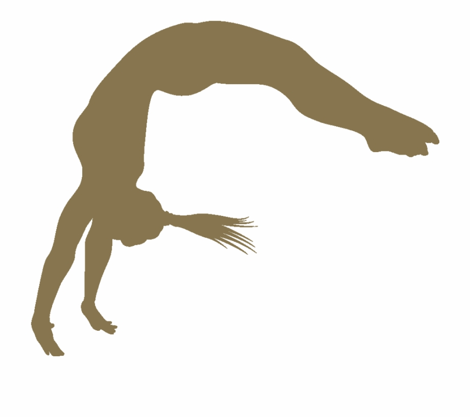 Free Download Gymnastics Flip Silhouette Clipart Artistic.